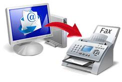 Прием и отправка факсов на email